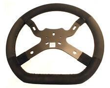Go Kart Kg M5 Flat Bottom Steering Wheel 330mm Black Karting Race Racing
