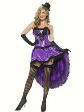 Ladies Fancy Dress Burlesque Glamour Moulin Rouge Can Can Glamour Corset Sexy