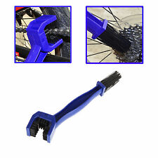 Blue Portable Cycling Motorcycle Chain Cleaning Tool Gear Grunge Brush Cleaner