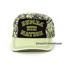 ZUMBA MIAMI NATION Military Hat Cap Adjustable Back Stylish,Durable Chic RARE!