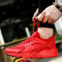 Men's Casual Fashion Athletic Shoes Sport Mesh Trainers Lace Up Sneakers Running