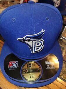 Bluefield Blue Jays MiLB New Era Diamond 59Fifty GAME Cap Hat Size 7 7/8 Toronto