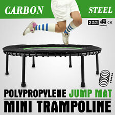 40 inch Mini Trampoline Safety Bungee Cover Durable Trainer Exercise 330lbs