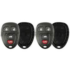 2 New Replacement Keyless Entry Remote Key Fob Case Shell for 15252034 22733523