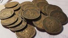 Lot de monnaies 1 Franc Chambre du commerce 140 gr environ