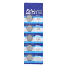 Lots 5Pcs CR2025 BR2025 DL2025 KCR2025 2025 3V Button Coin Cells Battery Bulk