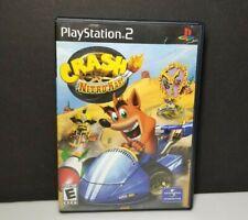 Crash Nitro Kart PS2 Black Label Play Station 2 Complete
