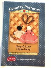 """Lizzy & Lucy Topsy-Turvy"""" - turned around, one is the other, upside down."""