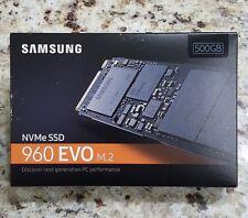 SAMSUNG 960 EVO 500GB M.2 NVMe SSD (MZ-V6E500BW) Sealed NEW