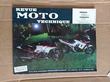 Revue Moto Technique pour HONDA VF 400 F ; VF 500 F et F II & YAMAHA FJ 1100