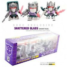 The Loyal Subjects Transformers Shattered Glass Evil Dinobots 3 Pack NEW SDCC