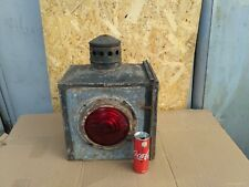 ANTIQUE SARTORIUS WUPPERTAL–BARMEN KEROSENE LANTERN SIGNAL TRAFFIC LIGHT BIG