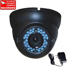 Dome Security Camera Outdoor Varifocal Lens IR Day Night Vision with Power bds