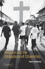 Religion and the Obligations of Citizenship (Paperback or Softback)