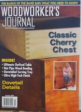 Woodworker's Journal Oct 2018 Classic Cherry Chest Dovetail FREE SHIPPING CB