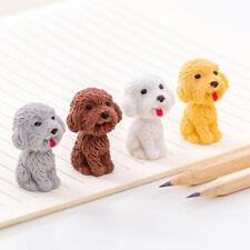 1pcs/lot Cartoon Cute Dog Rubber Eraser Art School Supplies Office Stationery