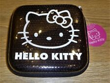 Hello Kitty Black Sequin CD Case Holder Media Discs Strong Durable New With Tag