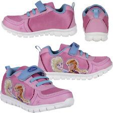 Sportschuhe Kinder Freizeit Schuhe Disney Eiskönigin Elsa & Anna rosa Gr. 31