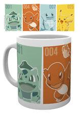 Pokemon Starters Mug Pikachu Ash Ketchum Catch Em All Kanto 151