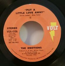 "Emotions Volt 4106 ""PUT A LITTLE LOVE AWAY"" PROMO FREE SHIPPING / MAKE OFFER"