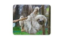 Cute Sloth Mouse Mat Pad - Lazy Dad Brother Uncle Son Funny Gift Computer #13048