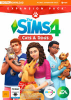 The Sims 4 Cats and Dogs Expansion PC Game *DOWNLOAD CODE* READ DESCRIPTION*