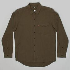 Levi Strauss & Co Men's Regular Cotton No Pattern Casual Shirts & Tops