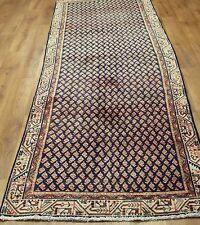 Traditional Vintage Wool Handmade Classic Oriental Area Rug Carpet 300 X 96 cm