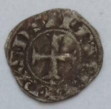 1763. denar denier crusader crusander Achai Philippe de Savoy 1301-1307  +5 Nf