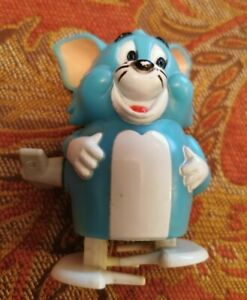 Vintage TV Cartoon Tom Cat (Tom & Jerry) Wind Up Toy Marx Toys Made In Hong Kong