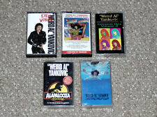 Lot of 5 Weird Al Yankovic Cassette Tapes Even Worse, In 3D, Alapalooza More