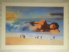"""Mirage""  Signed Limited Edition by Jim Warren Lithograph"
