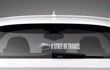 A State of Trance Car Window Sticker Styling Decal