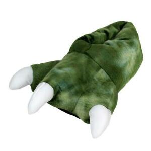 Dinosaur Feet Slippers with Sound - slippers that ROAR! - One Size
