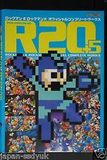 JAPAN R20+5 Mega Man / Rock Man & Rock Man X Official Complete Works