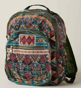 💕$285 JOHNNY WAS SHANELE SNAKE EYE EMBROIDERED BACKPACK NEW RARE LAST ONE