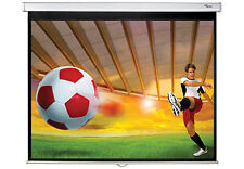 Optoma 84 Inch Manual Projection Screen Ds-3084pwc