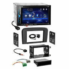 Pioneer 2018 DVD USB BT Stereo 2Din Stereo Dash Kit Harness for 99-06 Volvo S80