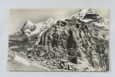 Postcard Murren Switzerland Unposted Real Photo RP