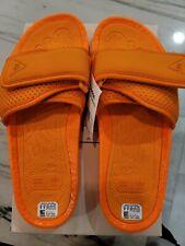 Adidas hu pharrell williams Sandal Boost Orange Size 9 Brand New with box