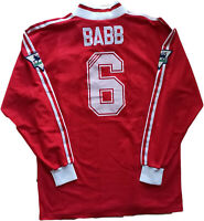 match worn Liverpool vintage Adidas shirt jersey BABB Premier League XL 1995-96