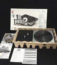 DJ Hero 2 Turntable Bundle Nintendo Wii: Wireless Turntable & DJ Hero 1&2 Sealed