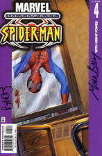 Ultimate Spider-man #4 signed by Bendis and Bagley FREE UK POST