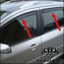 Set 4 Déflecteurs de vent pluie air teintées pour Peugeot 207 SW wagon