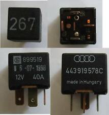 Vw Audi, Skoda N ° 267 Magnético Embrague relé 443919578c