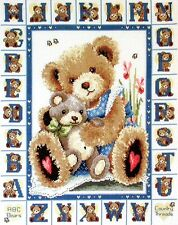 ABC Bears -  Cross Stitch Chart - Country Threads