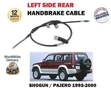 FOR MITSUBISHI SHOGUN / PAJERO 2.8TD 3.0 3.5 1993-> LEFT SIDE HAND BRAKE CABLE