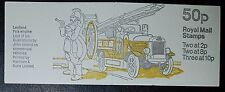 1979 Fb9b 50p Commercial vehicles - Leyland Fire engine Booklet (No740)