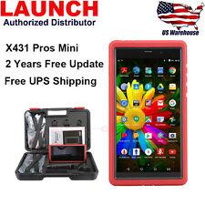 2018 LAUNCH X431 Pros Mini Pro Scanpad OBD2 Diagnostic Scanner Tablet Global V