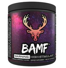 Bucked Up BAMF DAS Nootropic Focus Pre Workout 30 Servings - Multiple Flavors